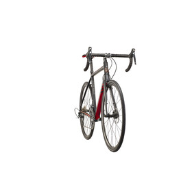 Kona Esatto Disc matt black/silver/dark red